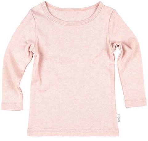 Toshi - Onesie Long Sleeve Tee Dreamtime - Peony - August Lane