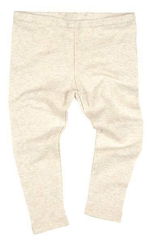 Toshi - Organic Cotton Leggings Dreamtime - Oatmeal - August Lane