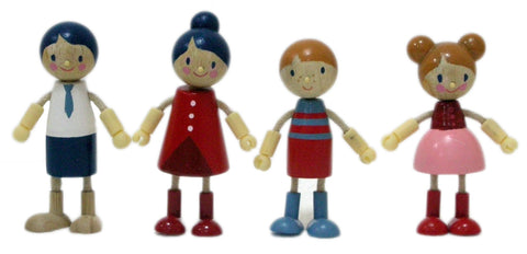 Tender Leaf Toys - Wooden Doll Family - August Lane