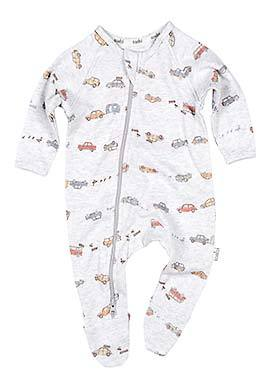 Toshi - Onesie L/S Duck Duck - August Lane