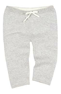 Toshi- Organic Knitted Leggings Wander - Dove - August Lane