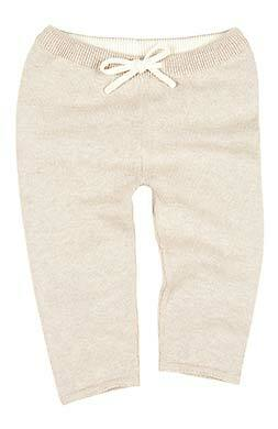 Toshi- Organic Knitted Leggings Wander - Oatmeal - August Lane