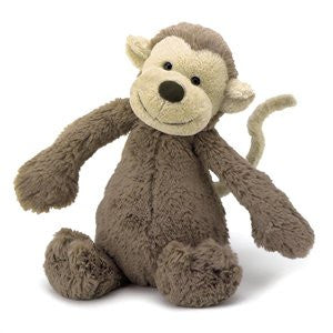 Jellycat - Bashful Monkey - August Lane