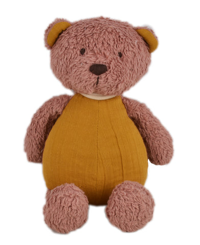 Tikiri - Organic Muslin Plush Bear - August Lane