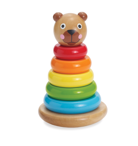 Manhattan Toys - Brilliant Bear Magnetic Stack Up - August Lane