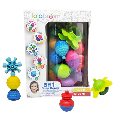 LALABOOM- 30pcs Beads And Accessories