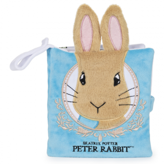 Jasnor - Peter Rabbit Soft Book With Plush Ears - August Lane