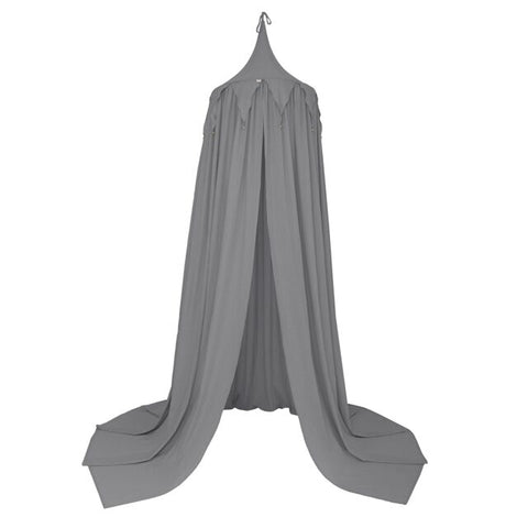 COMING SOON - Numero 74 Canopy - Circus Bunting Canopy - Stone Grey