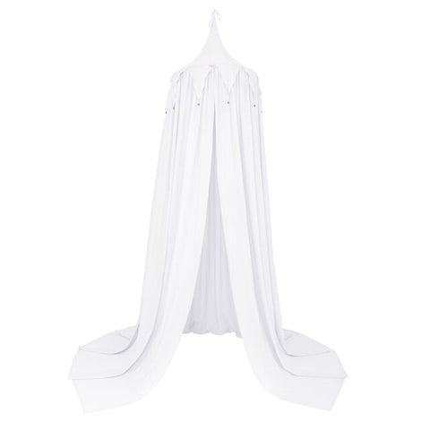 Numero 74  - Canopy - Circus Bunting Canopy - White