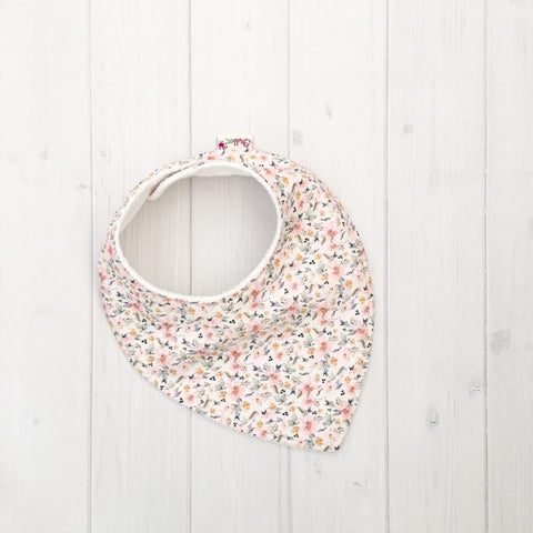 Grubbee Kids - Ditsy Floral Bib - August Lane