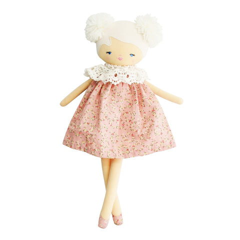 Alimrose - Aggie Doll Posy Heart - August Lane