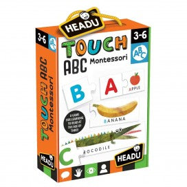 Headu - Montessori Touch ABC - August Lane