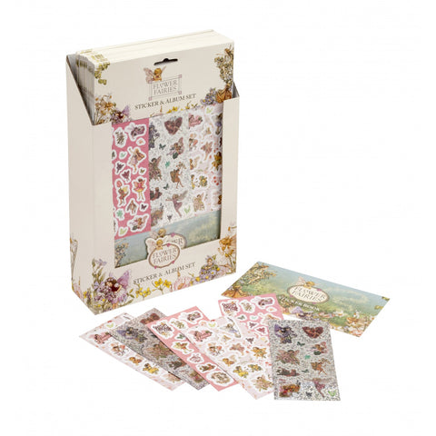 Belle & Boo -  Flower Fairies Stickers & Album - August Lane