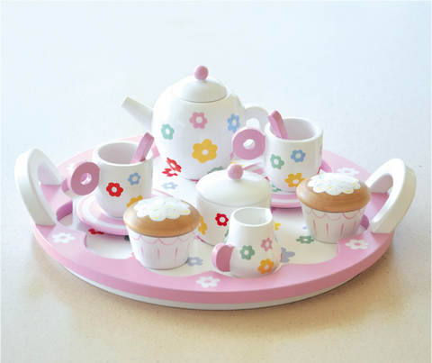 Flower Party Tea Set - August Lane