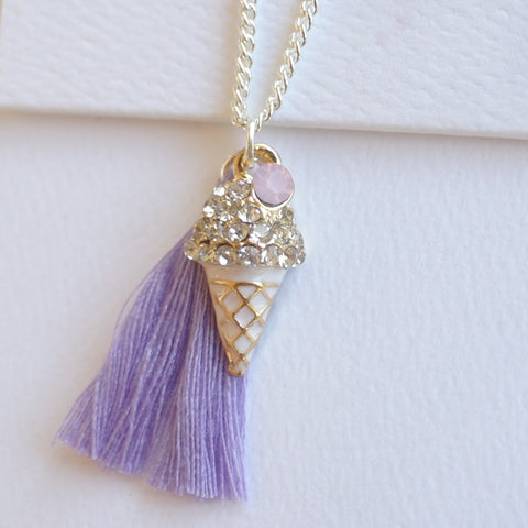 Lauren Hinkley - Ice Cream Necklace - August Lane