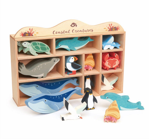 Tender Leaf Toys - Coastal Animals Set