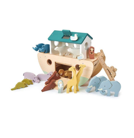 Tender Leaf Toys - Noah's Wooden Ark - August Lane