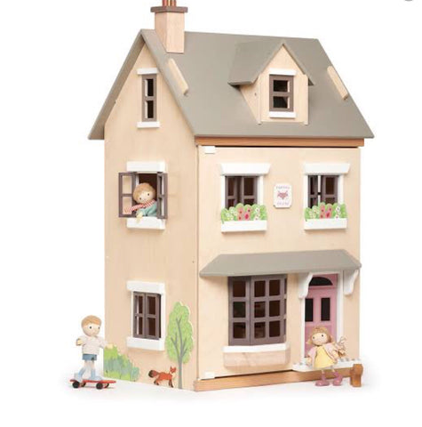 Tender Leaf Toys - Foxtail Villa Dollhouse - August Lane