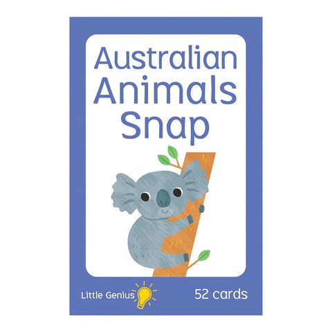 Little Genius - Australian Animals Snap Cards - August Lane