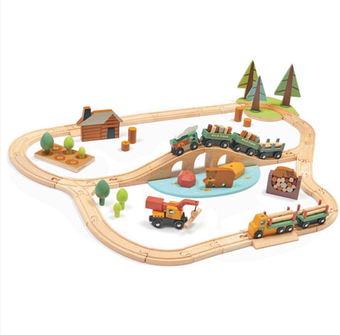Tender Leaf Toys - Wild Pines Train Set - August Lane