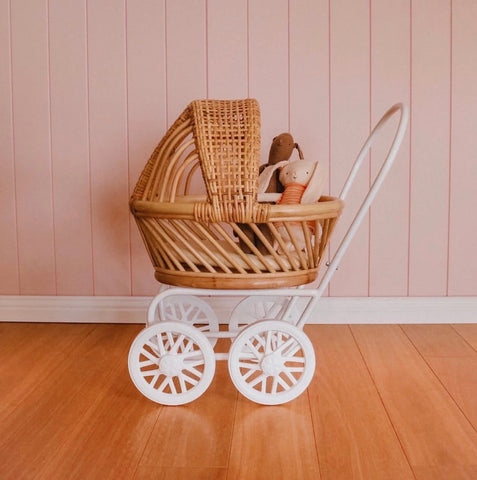 My Darling Valentine - Gigi Pram - White - August Lane