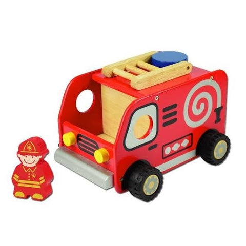 I'm Toy - Deluxe Fire Engine - August Lane