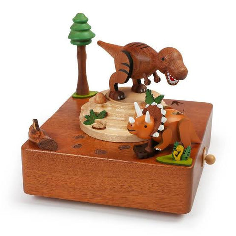 Wooderful Life- T-Rex Music Box - August Lane