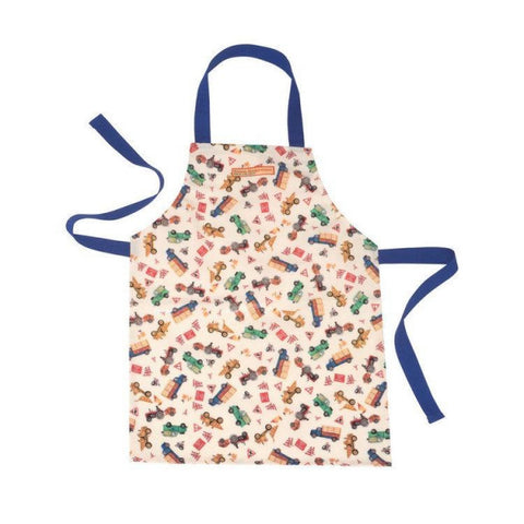 Tinco - Kids Apron - Vehicles - August Lane