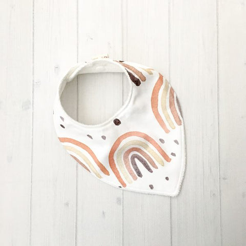 Grubbee Kids - Natural Rainbow Bib - August Lane