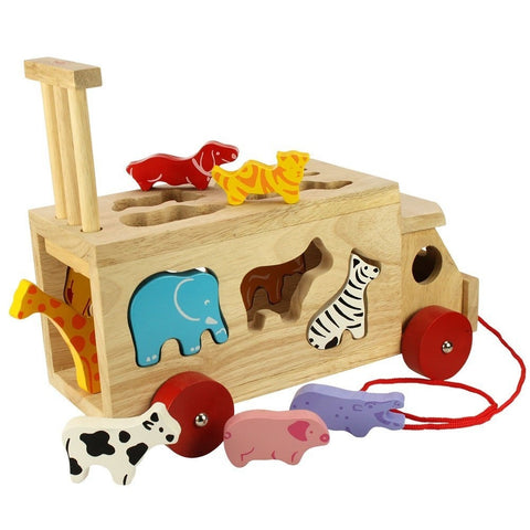 Bigjigs Toys - Animal Shape Lorry