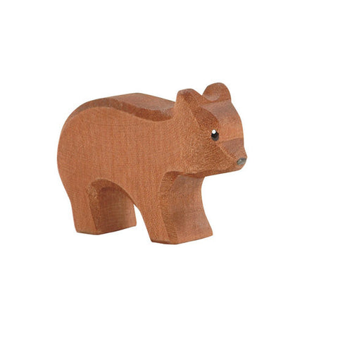 Small Running Bear Wooden Animal - August Lane