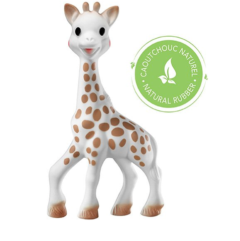 Sophie The Giraffe - Sophie Natural Rubber Teether Toy - August Lane