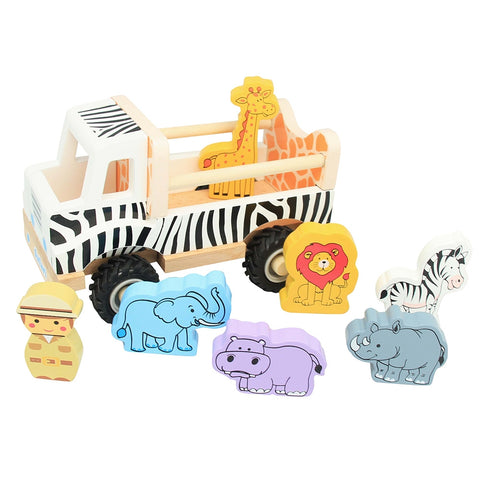 Toyslink - Safari Truck with Animals - August Lane