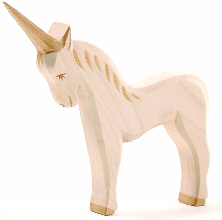 Unicorn Wooden Animal - August Lane