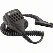 PMMN4025 Motorola IMPRES remote speaker microphone comes with a 3.5mm audio jack and offers Windporting audio benefits.