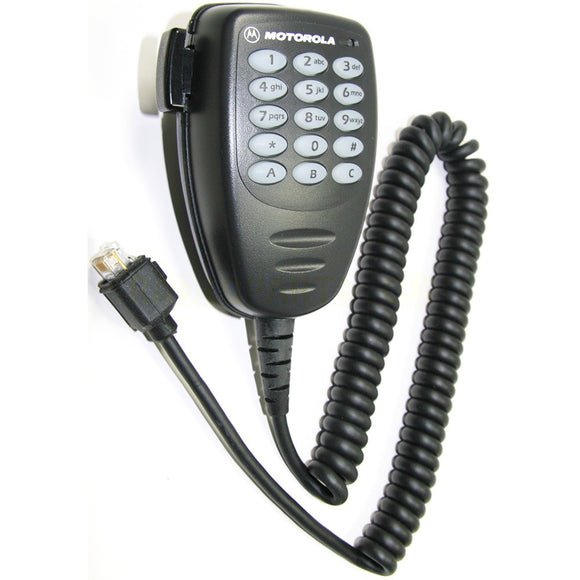 AARMN4026 Enhanced Keypad Microphone includes a full keypad for CDM Series