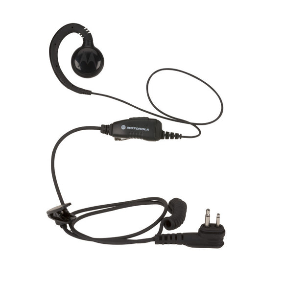 HKLN4424 Motorola Swivel Earpiece With In-Line Push-To-Talk