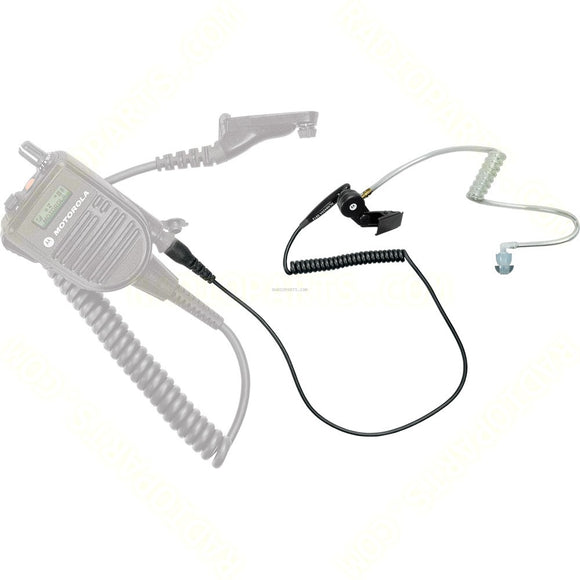 RLN6424 Motorola Receive only earpiece with acoustic tube and eartip for APX radios