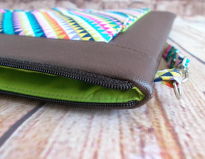 Sew Zipper Tabs without Dented Corners
