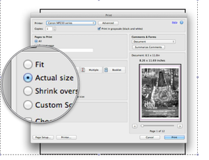 How to Print Off and Piece together a PDF Pattern accurately