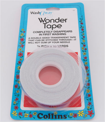 "Collins Wonder Tape 1/4"" x 10 Yards"