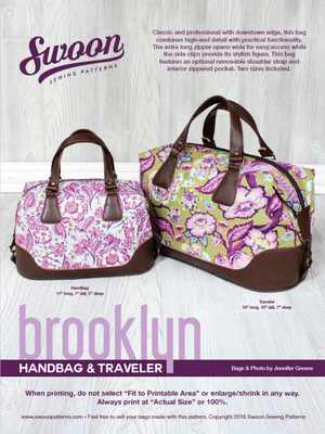 Swoon Brooklyn Bag Hardware Kit