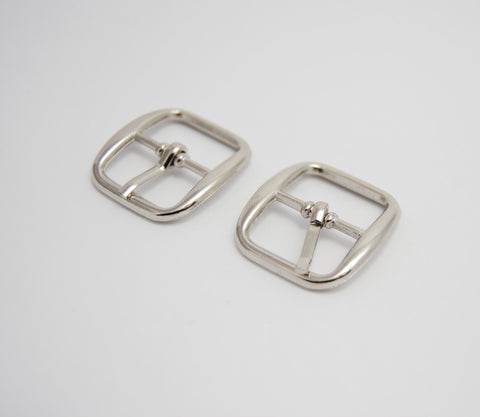 "3/4"" Alloy Pin Buckle, Silver"