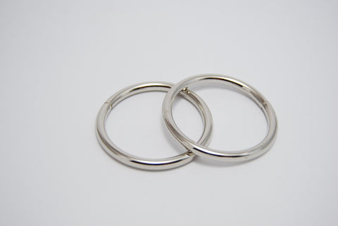 "11/2"" O Rings, 4mm thick, Two Colours"