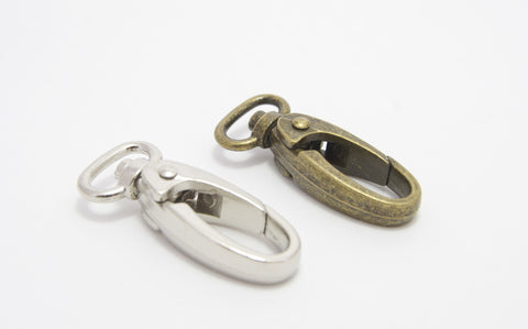 "1/2"" Swivel Snap Hooks in two colours"