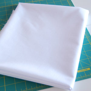VALUE Fusible Woven Interfacing, 2 Colours, Black or White