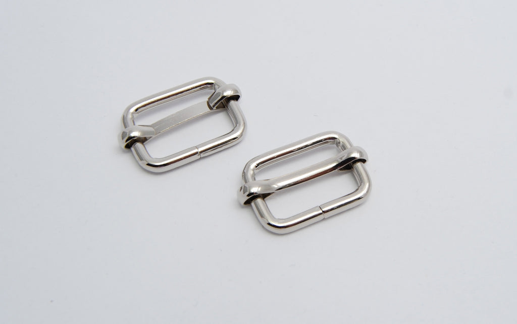 "3/4"" Slider Buckle, two colours"
