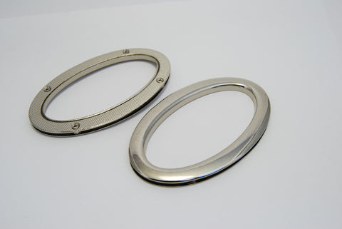 Oval Metal Bag Handles With Screws