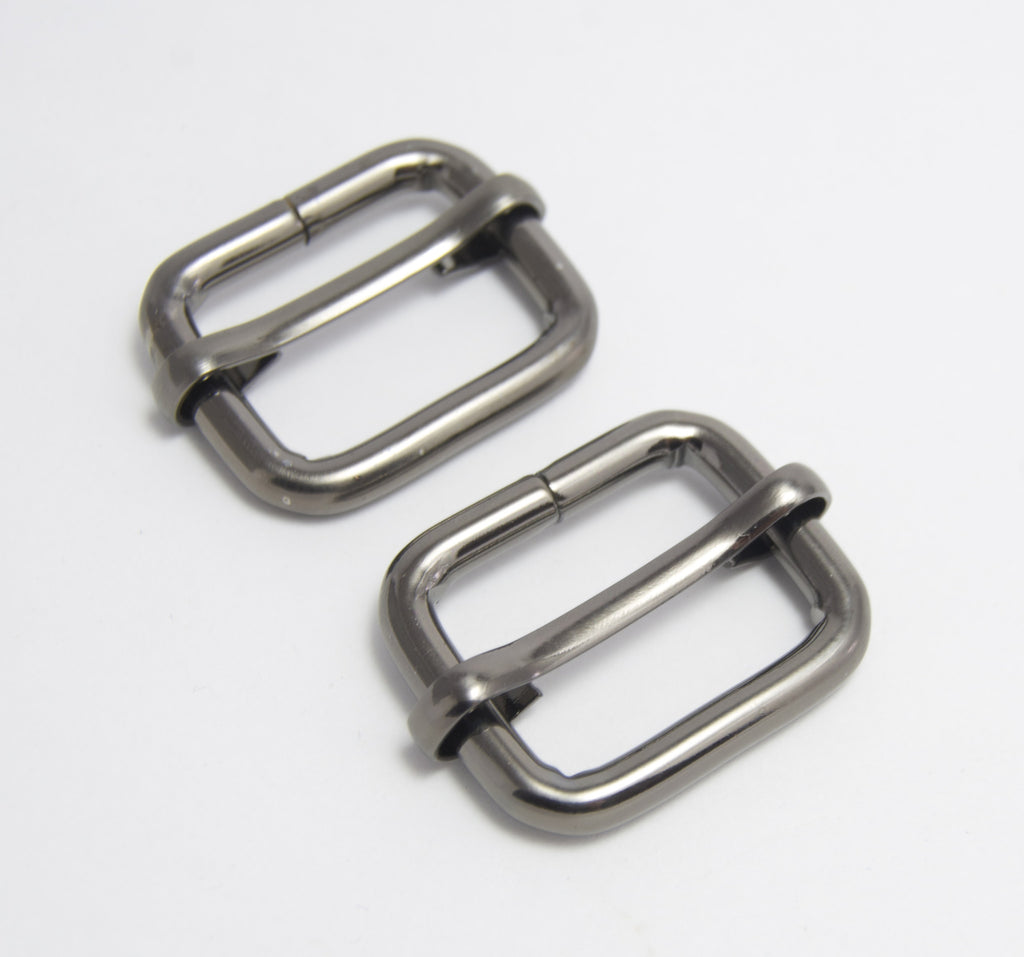"1"" Gun Metal Slider buckle"