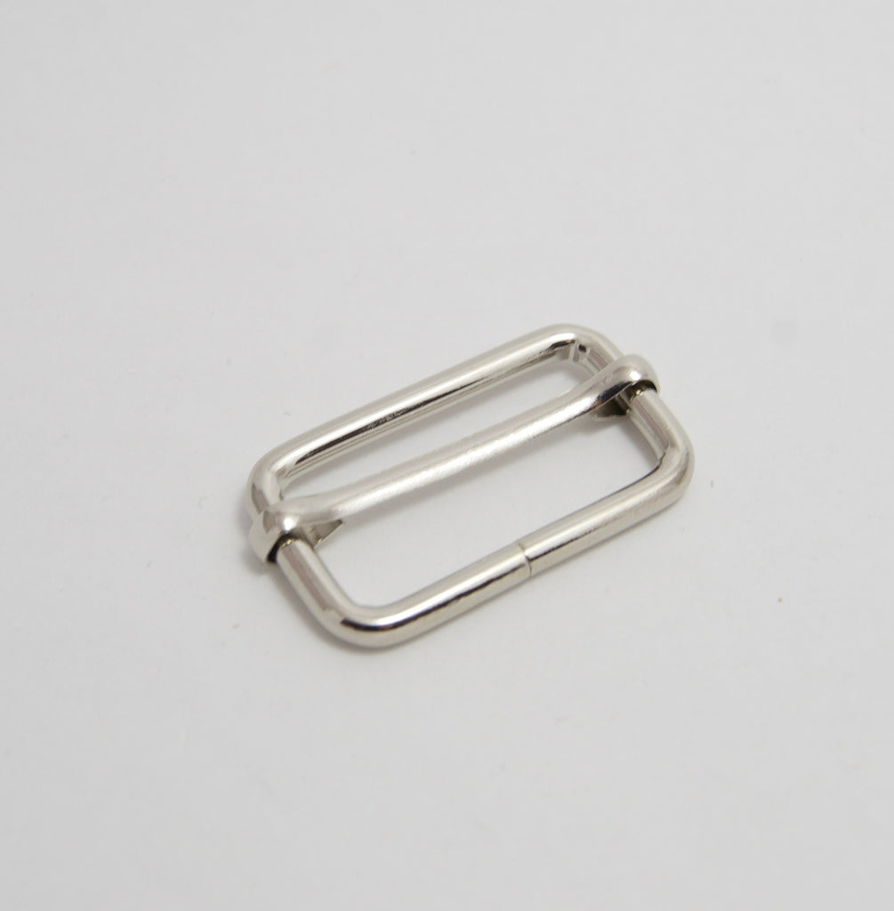 "1 1/4"" Wire Form Slider buckle, 3 Colours"